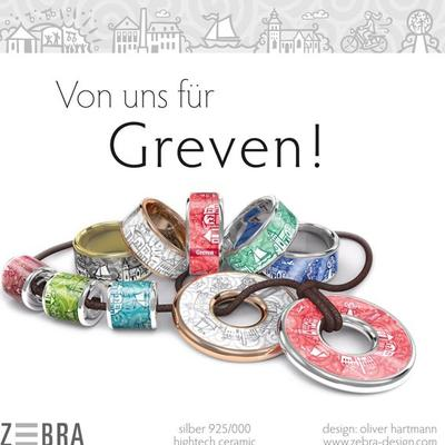 Zebra Design Greven Ring